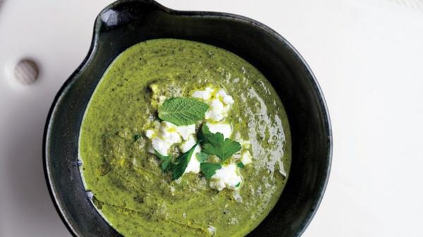 Mangoldsuppe Rezept Cremesuppe zubereiten