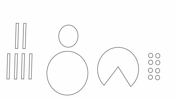 Marienkäfer basteln 3 einfache Bastelideen aus Papier für Kinder Schablone