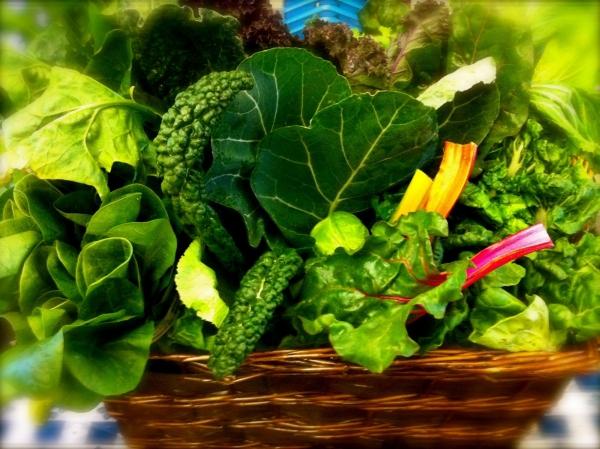Natürliche Beruhigungsmittel aus der Naturapotheke und weitere Anti-Stress Tipps grünblättriges gemüse essen