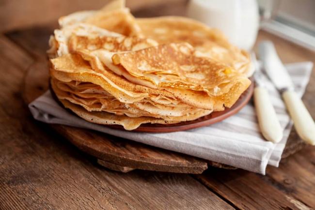 Pfannkuchen leicht gemacht glutenfreie Palatschinken knusprig gesund lecker