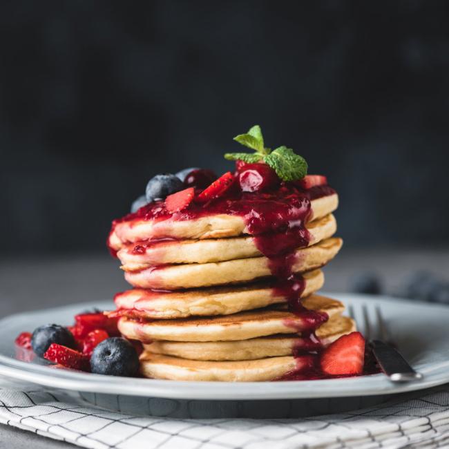 Pfannkuchen leicht gemacht leichte Zubereitung viel Genuss