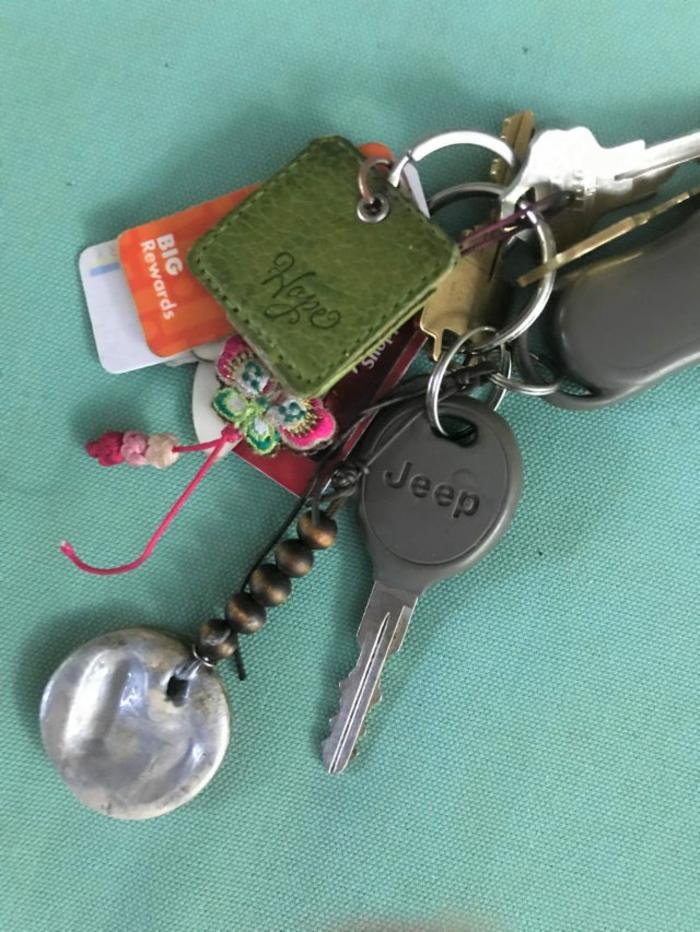 Schlüsselanhänger selber machen schlüsselbund