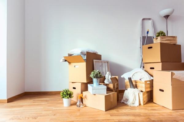 Umzug leicht gemacht reibungslos umziehen Verpackung Umzugskisten