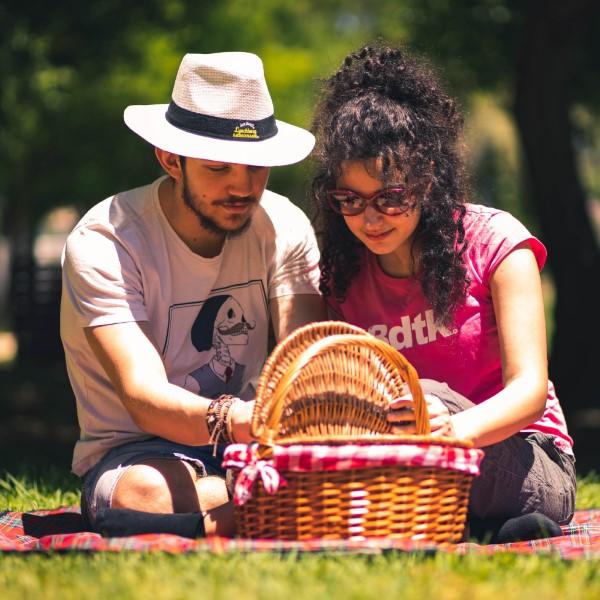 Valentinstag Unternehmungen für Zuhause – Ideen für Liebespaare trotz Corona picknick im garten