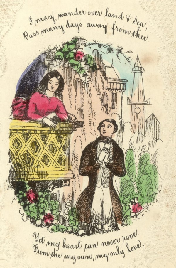 Valentinstag Ursprung und Bräuche - das Fest der Liebenden traditionell feiern verona romeo und julia karte