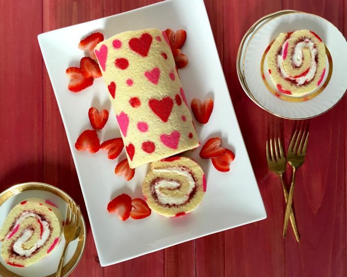Valentinstag basteln diy ideen deko karte gestalten heisse schokolade essen