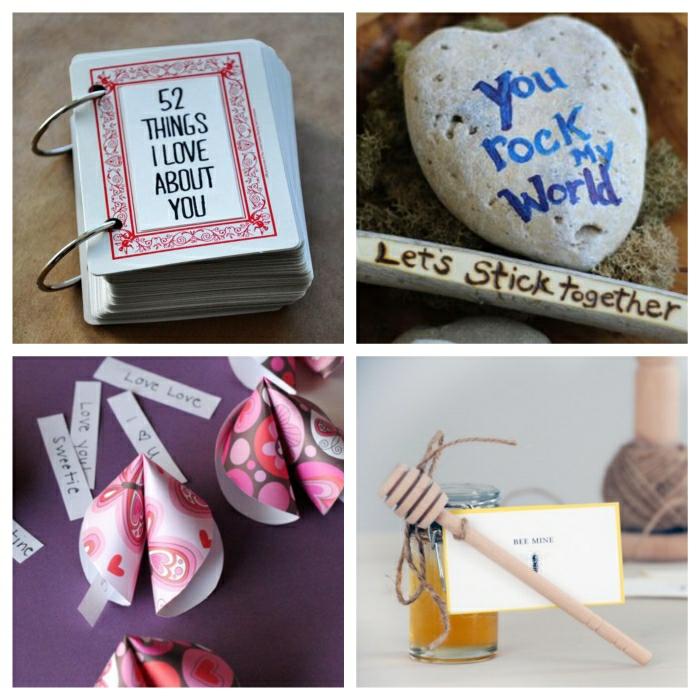 Valentinstag basteln diy ideen deko karte gestalten schokolade selber machen biene