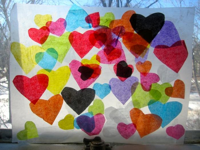 Valentinstag basteln diy ideen deko