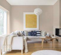Wandfarben 2021: Welche Trendfarben herrschen in diesem Jahr im Interieur vor?