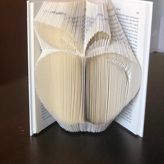 apple bücher falten