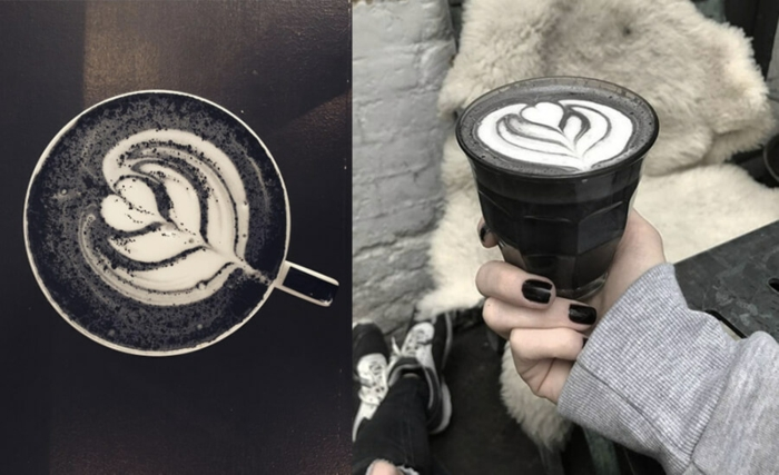 black latte selber machen rezept