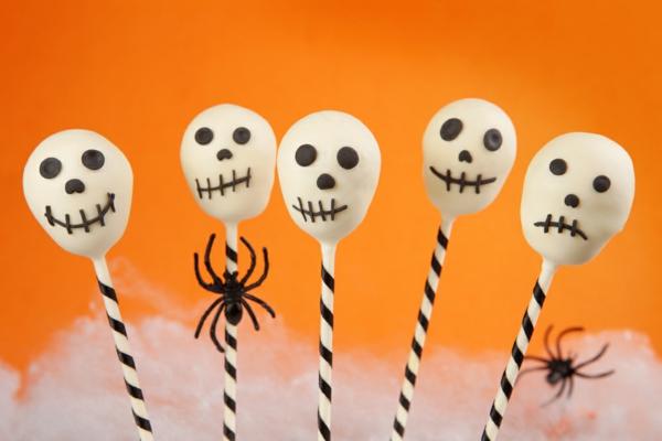 cake pops teig zum halloween