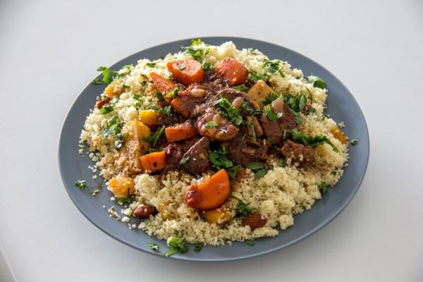 couscous zubereiten lamm rezept marokkanisch