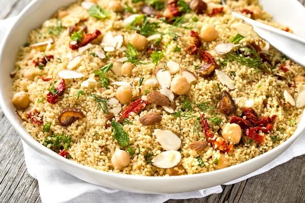 couscous zubereiten mit nüssen