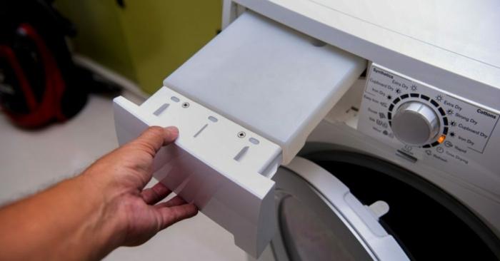 essig und backpulver putztipps saubere waschmaschine
