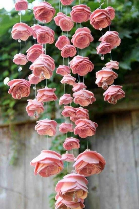 filz rosen basteln für erwachsene