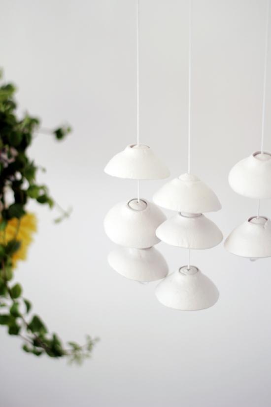 kaltporzellan lampenschirm basteln für erwachsene