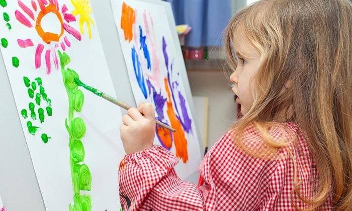 malen mit kindern kreative ideen farbe