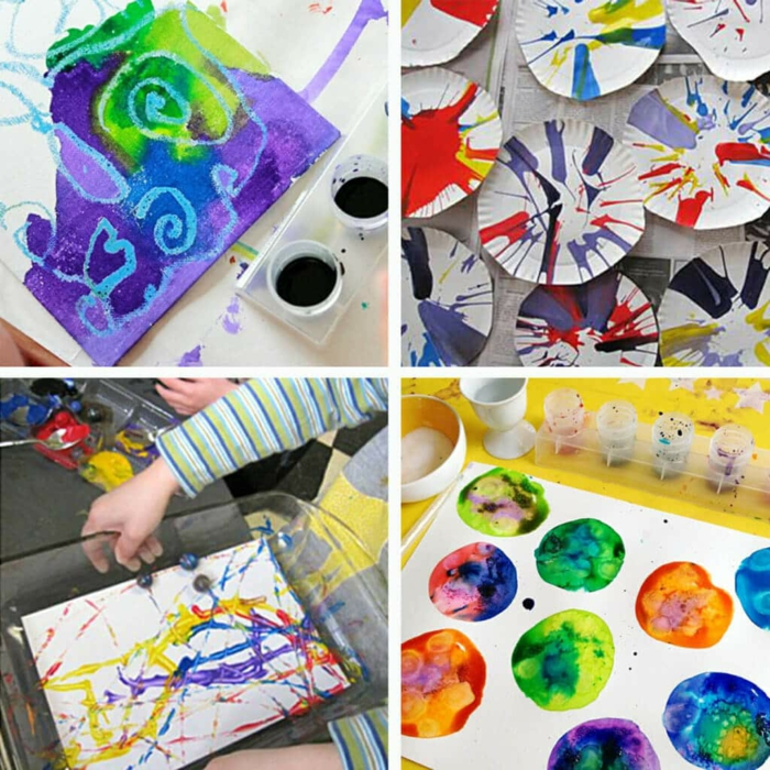 malen mit kindern kreative ideen lockdown