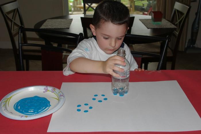 malen mit kindern kreative ideen stempel