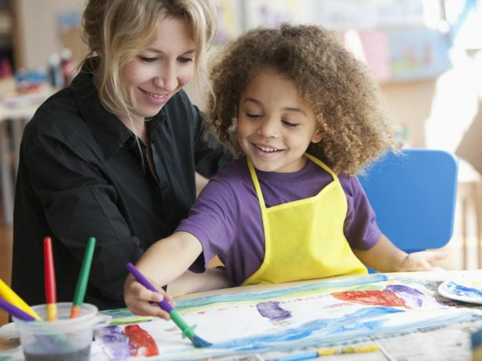 malen mit kindern kreative ideen therapeutisch