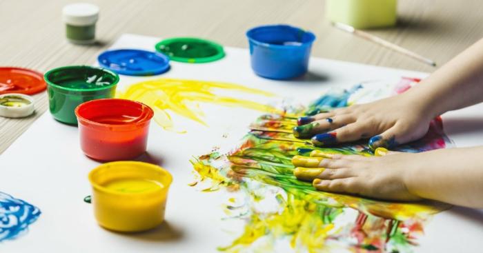 malen mit kindern kreative ideen titel