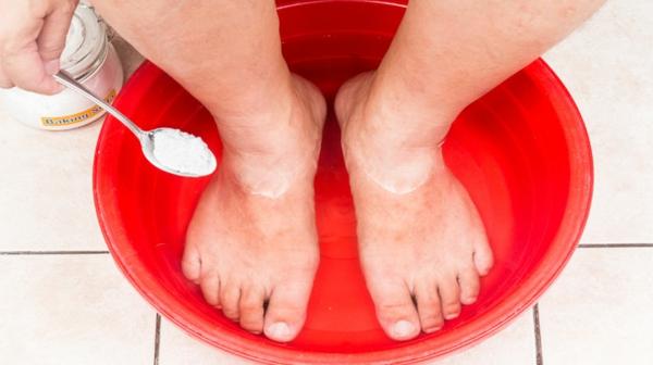 natron fußbad selber machen