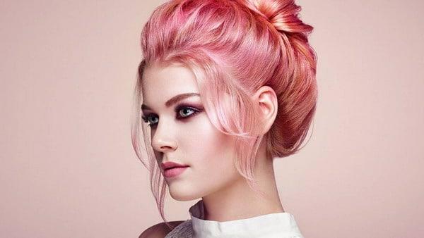 pink blond haarfarben trends 2021