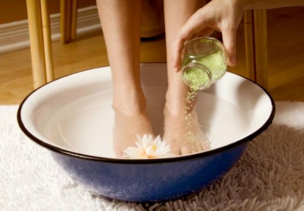 heilerde fußbad selber machen