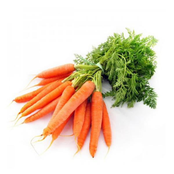 strahlende Gesichtshaut gesunde Lebensmittel Karotten reich an Vitamin A