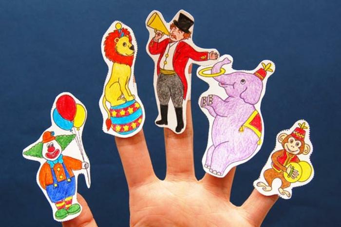 upcycling ideen faschinbasteln mit kidenrn fingerpuppen