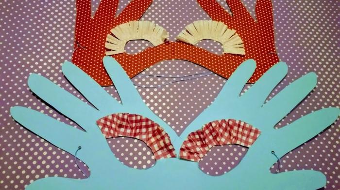 upcycling ideen faschinbasteln mit kidenrn pappteller masken basteln einfach