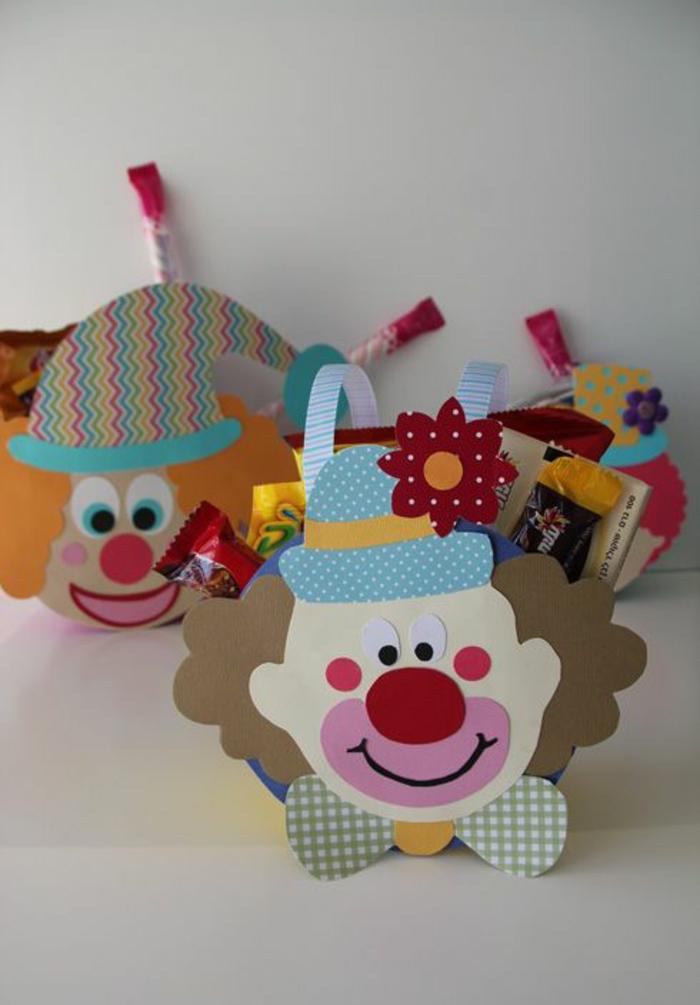 upcycling ideen faschinbasteln mit kindern clown