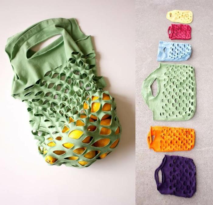 upcycling kleidung ideen einkaufstasche anleitng