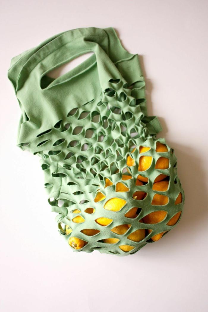 upcycling kleidung ideen einkaufstasche