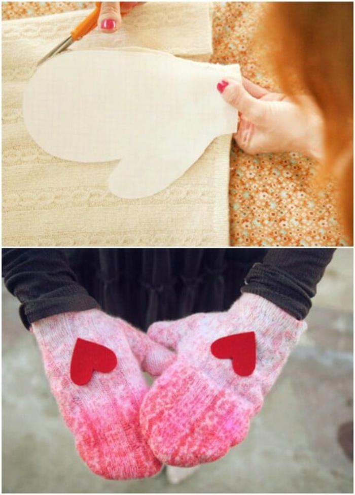 upcycling kleidung ideen handschuhe
