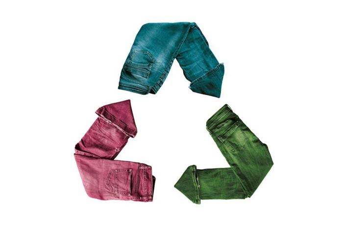 upcycling kleidung ideen stofftasche logo