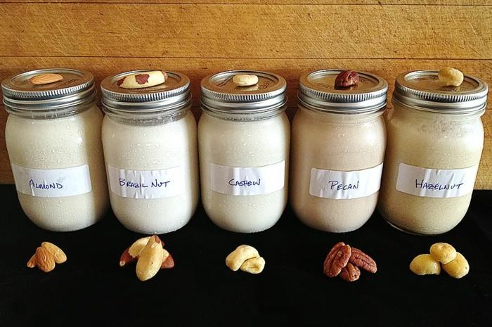 vegane milch selber machen nussmilch oder joghurt