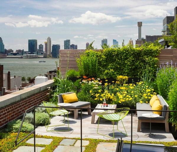 Ökologische Außenfassaden So wird das eigene Haus umweltbewusster garten auf dem dach