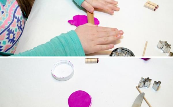 Anleitung für Freundschaftsketten basteln aus Polymer Clay