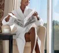 Bademantel mit oder ohne Kapuze? Komfort und Luxus im Badezimmer