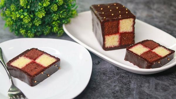 Battenberg Kuchen zubereieten -verschiedene Varianten