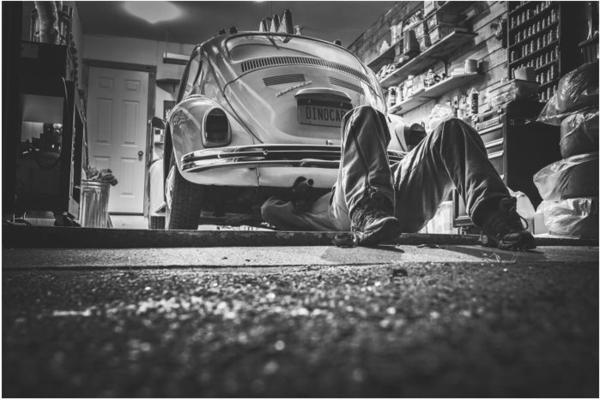 Epoxidharz als Garagenboden
