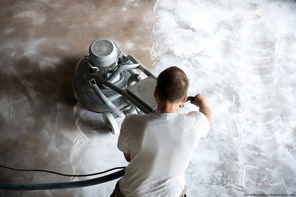 Epoxidharz als Garagenboden3