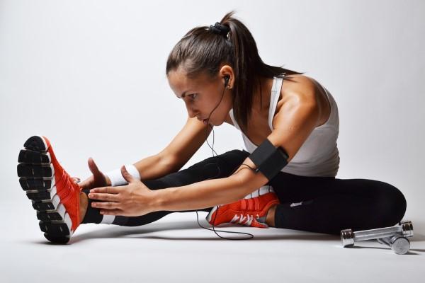 Fit werden in 4 Minuten mit Tabata Übungen training mit musik