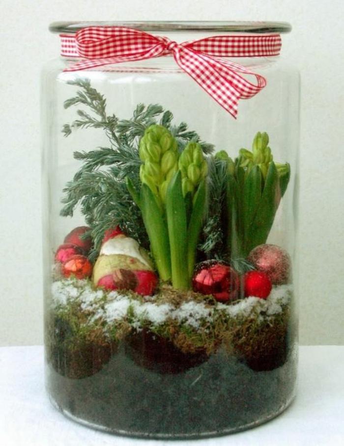 Frühlingsdeko selber machen basteln mit naturmaterialien winter