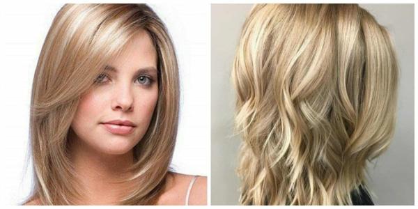 Frisurentrends 2021 gestufte Haare trendy Frisuren