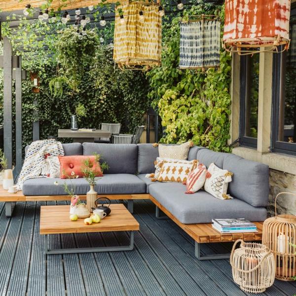 Gartenmöbel Trends 2021 Farbnuancen