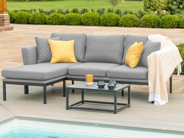 Gartenmöbel Trends 2021 Wurfkissen Gartenpool Sofa