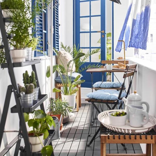 Gartenmöbel Trends 2021 kleine Räume